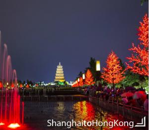 travel shanghai to hong kong