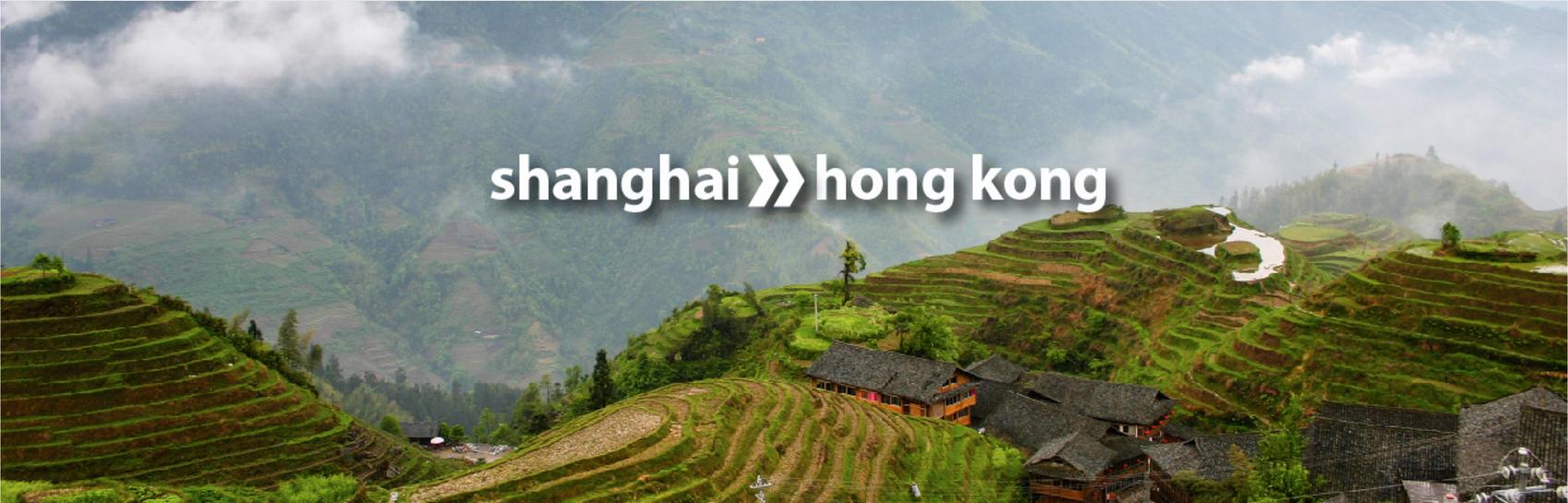 travel china shanghai to hong kong